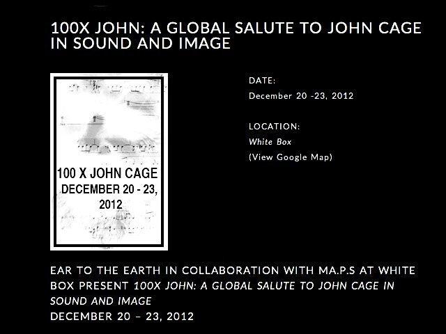 100 x John Cage