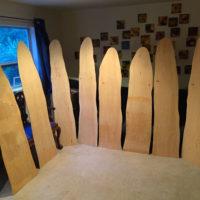 8 large sitka spruce resonators