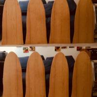 8 small sitka spruce resonators