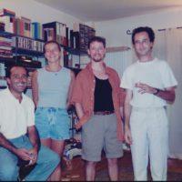 Massimo, Rita, Dave & G -  Bologna 1997