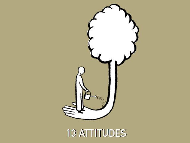 13 attitudes