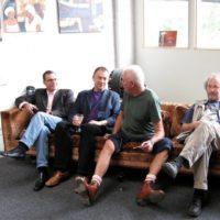with Han Bennink, John Butcher and François Houle