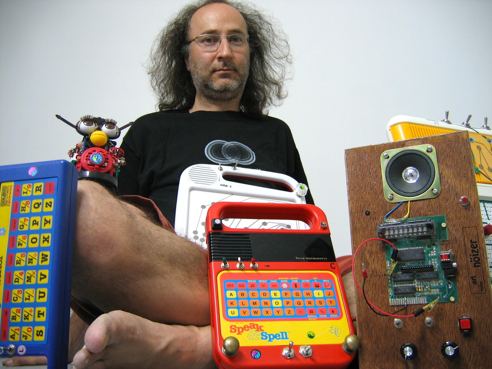 Giorgio with Toys