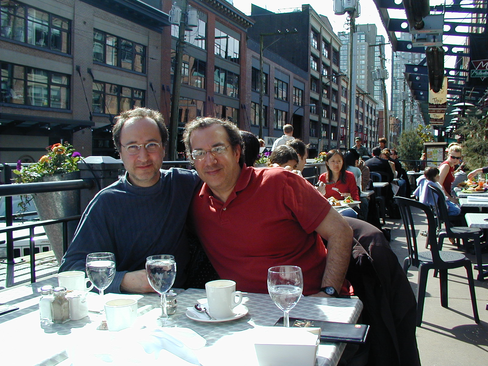 with Uri Caine
