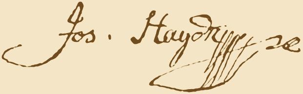 Haydn signature