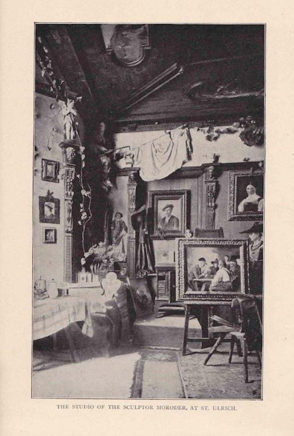 Moroder's studio