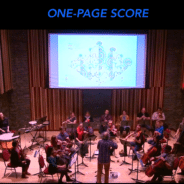 One Page Score video