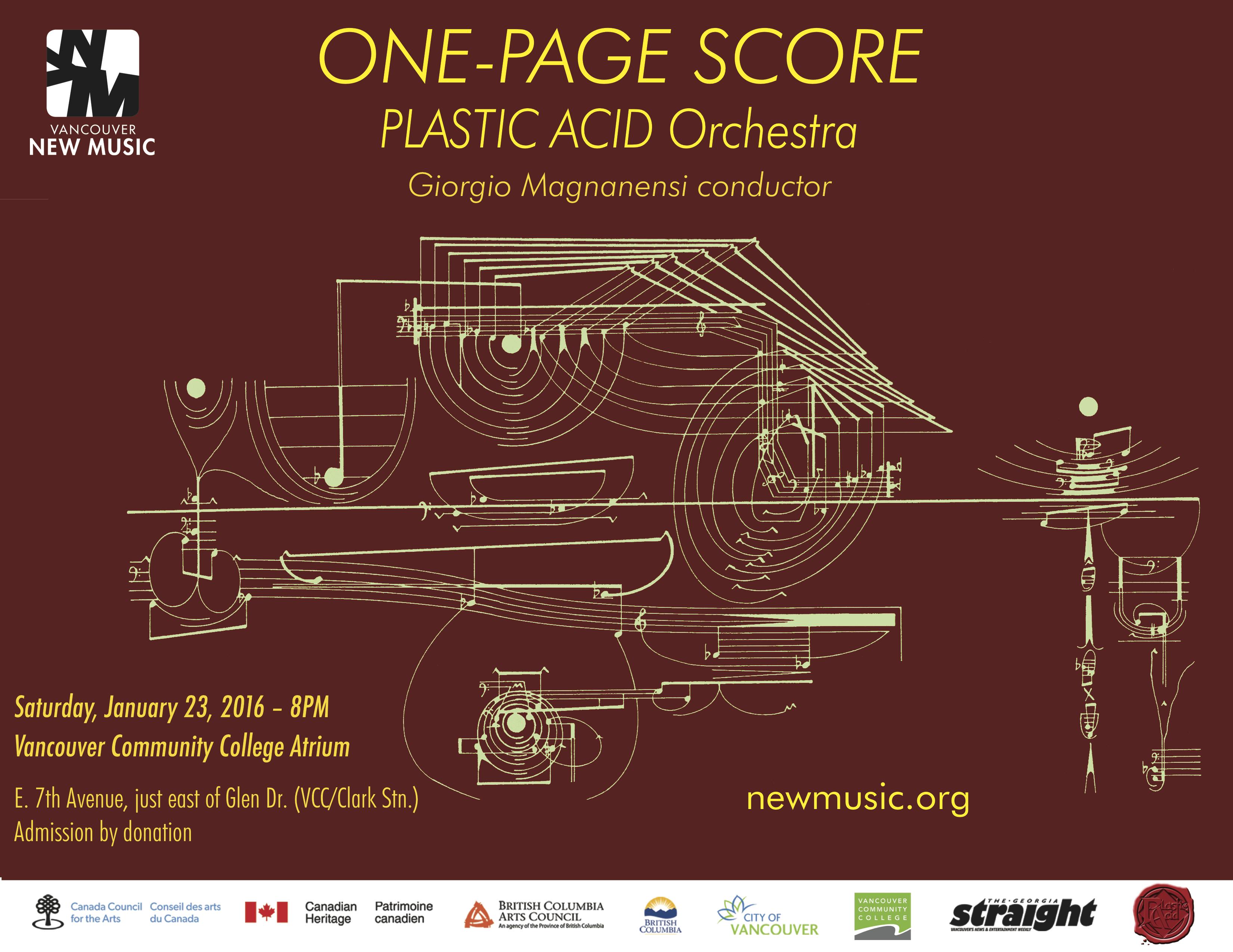 ONE-PAGE SCORE E-Poster