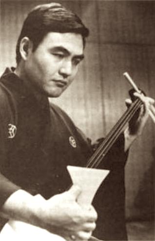 grand master Kineya Gosakichi (Sugiura Hirokazu)
