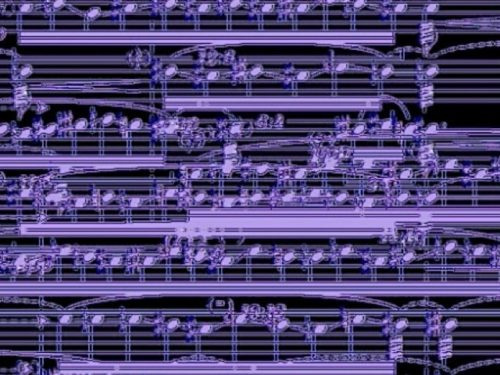 il suono indaco/panel III