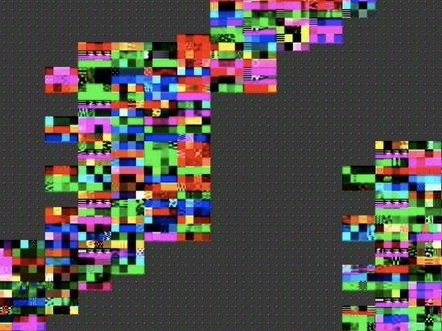 mpeg compression glitch