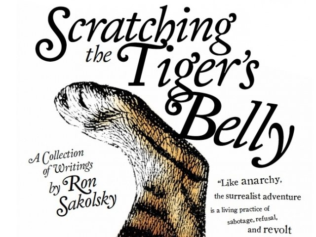 scratching the tiger's belly