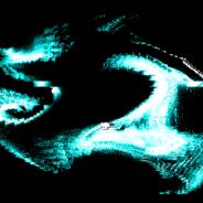 swirling (liquid) pixels