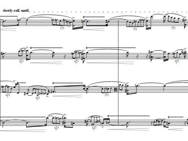 teatro dell'udito VI (string quartet III)