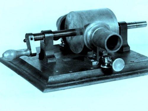 the 1878 St. Louis Edison Tinfoil Recording