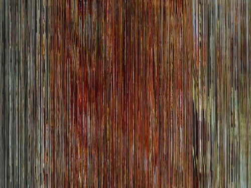 video painting & pixel sorting