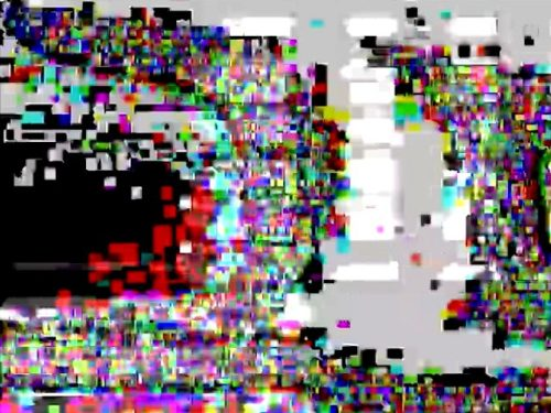 videopainting with glitch